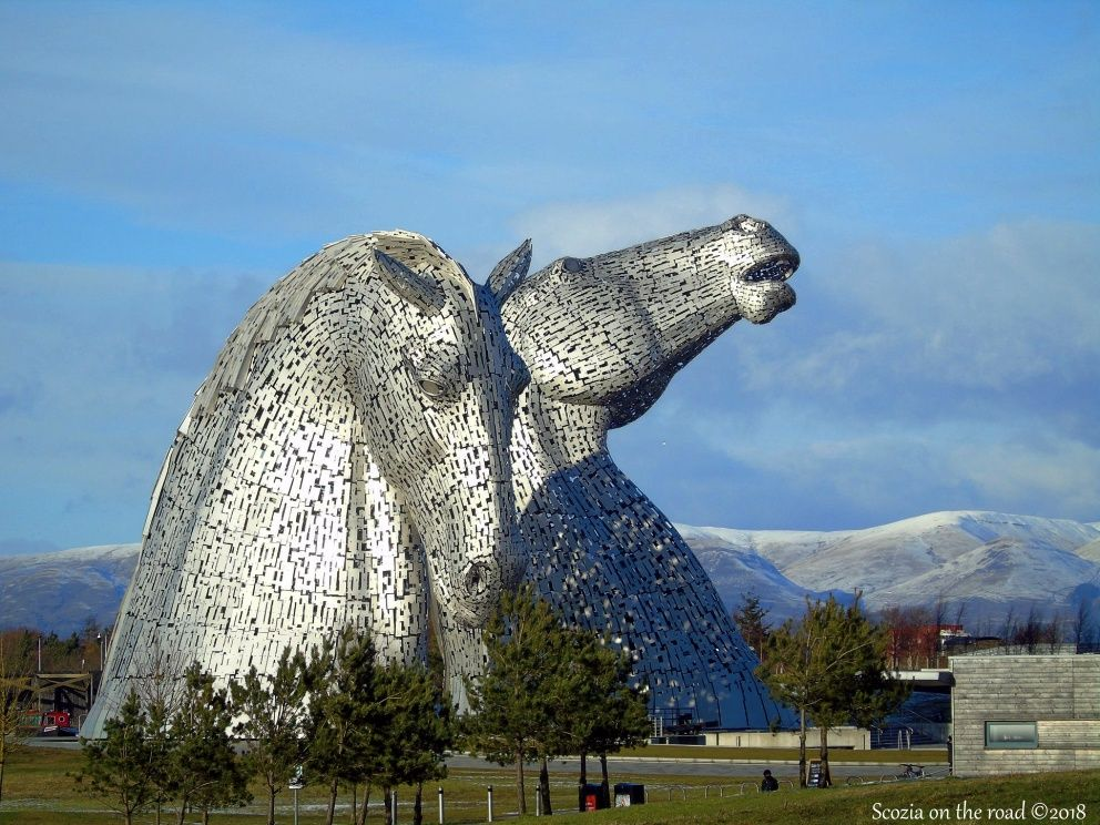 kelpies, scotland
