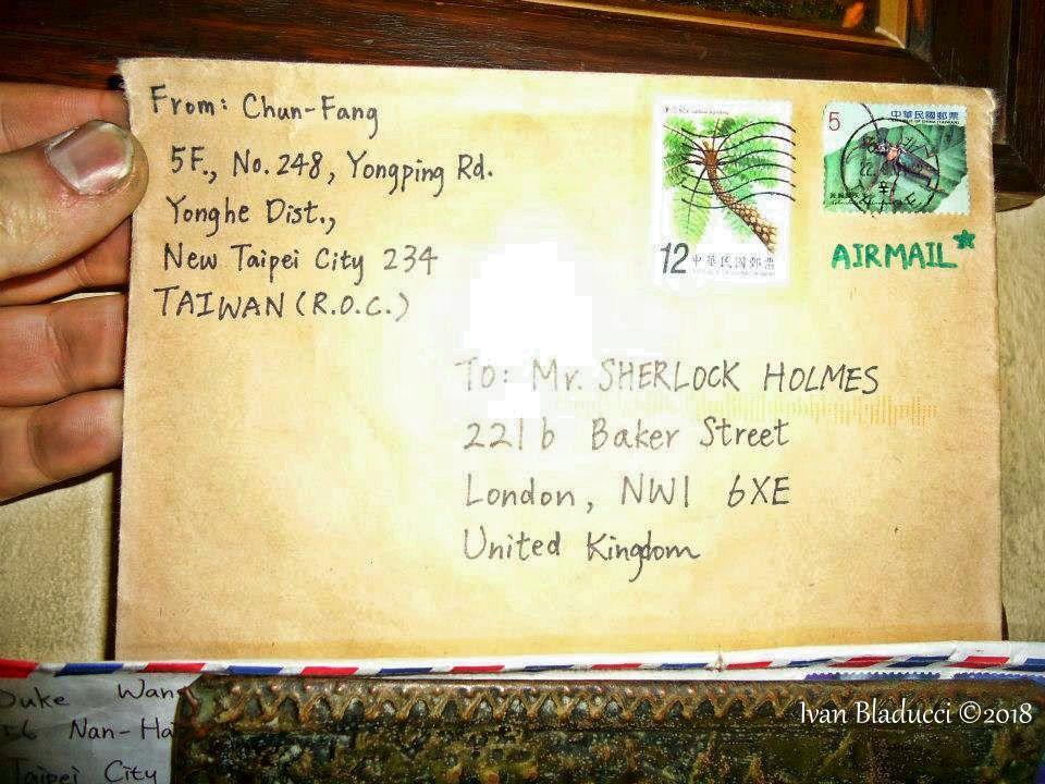museo sherlock holmes lettere2