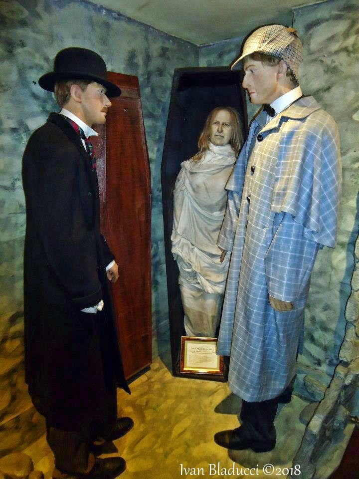 scene, manichini, museo sherlock holmes