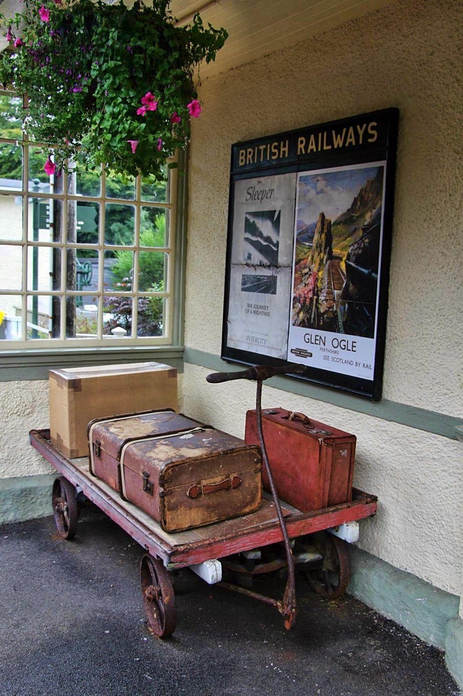 stazione ferroviaria, glenfinnan
